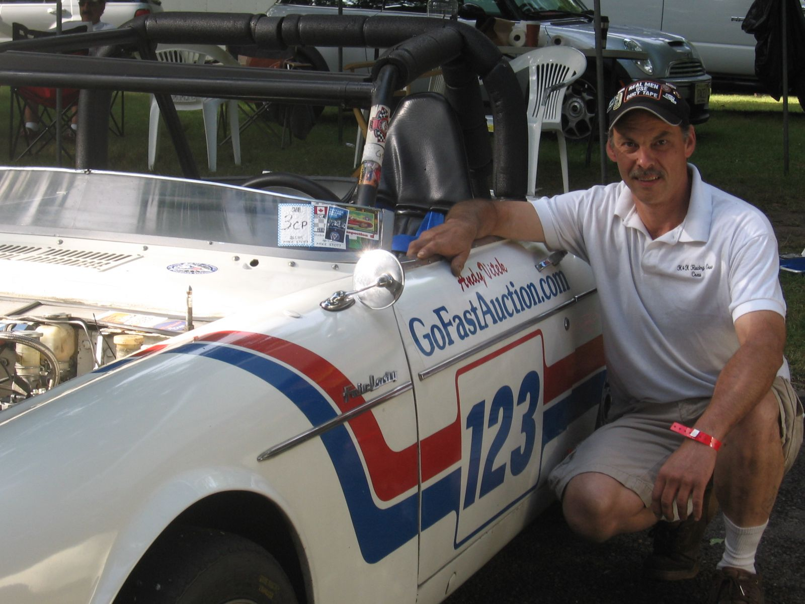 Jim Fitzgeralds 2000 Roadster at Pitt Vintage Gran Prix