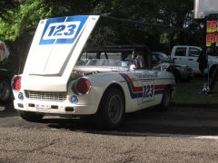 Jim Fitzgeralds 2000 Roadster at Pitt Vintage Gran Prix