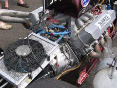 Radiator and fan......