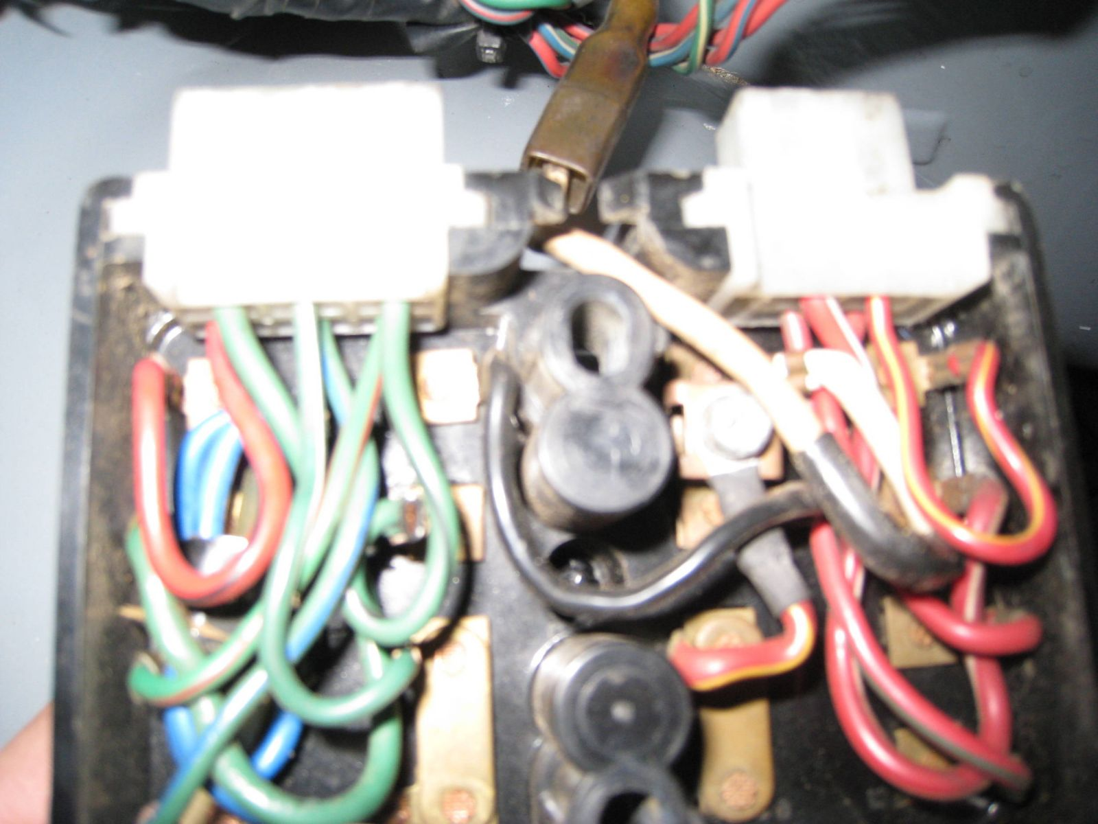 February 1970 Datsun 510 Fusebox Underside Members Albums Fuse Box Sign