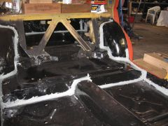Seam sealer install & Roll bar welding