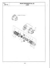 Subaru R160 LSD Exploded Parts Diagram