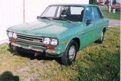 Old Pictures 1972 Datsun 510 4 Door - Old Photo
