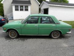 Seans Datsun 510 1972 4 Door Left Side