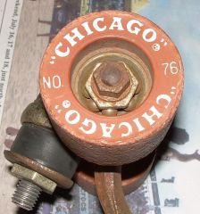 Clay Chicago No. 76 Wheels