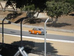 Racecraft's Jim Froula in his #52 Bluebird Coupe