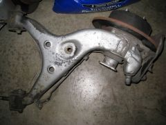 1980 Maxima vs 280zx rear control arms under the Strutless Wonder