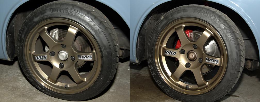 New Wheels/ Tires & Brakes !