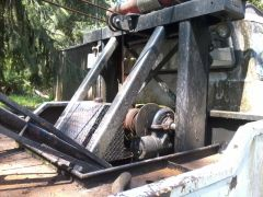 Big Hydraulic winch...rips trees out!