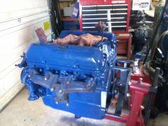 Ford Blue heavy dog....