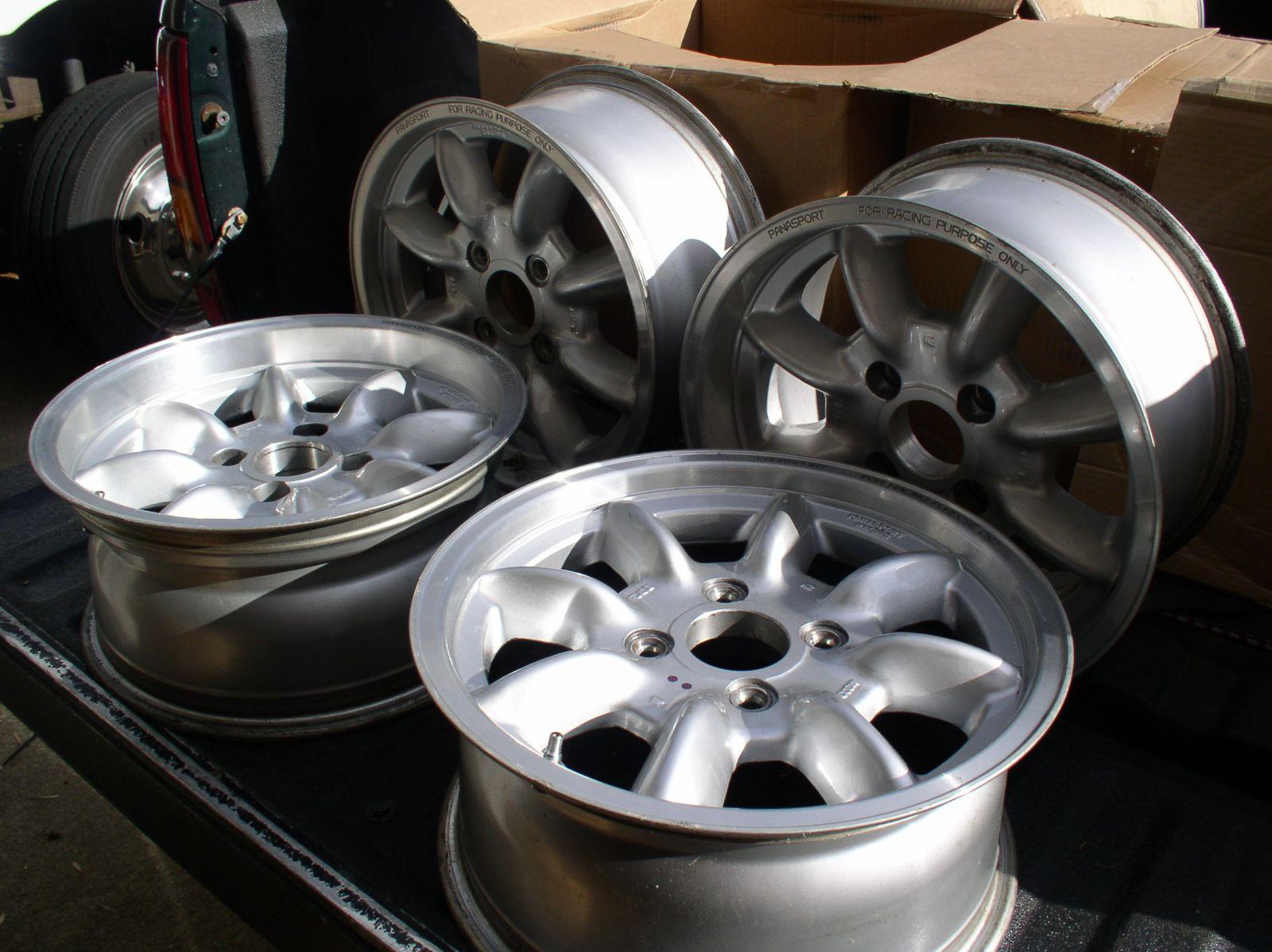 Panasport Wheels 15x7 +0 & +38 offsets