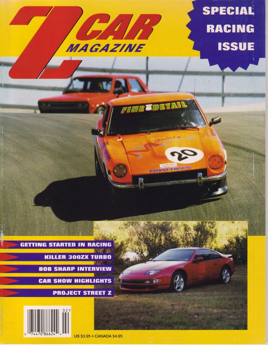 Made the cover of Z Car Magazine!