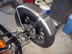 Front Fenders With Bracing