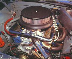 Cuda - 303.8ci V8 Trans-Am motor