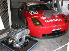 Nismo VQ35DE and Z33 Racecar