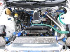 Top Secret VQ turbo powered Skyline!