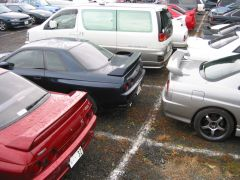 Typical parking lot scene 3