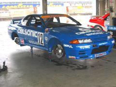 The famous Calsonic R32 Skyline GT-R racecar