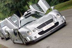 Mercedes CLK in England