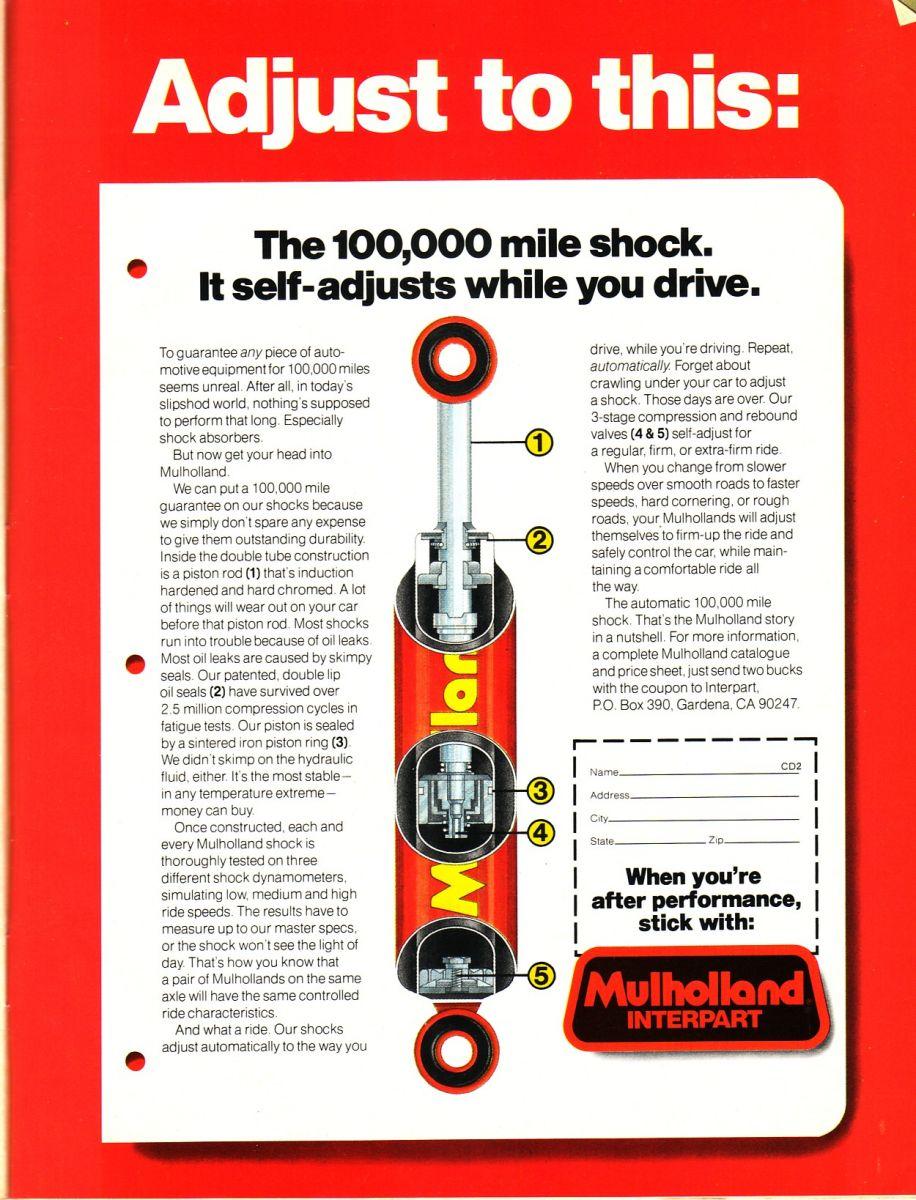 Mulholland Shocks Ad