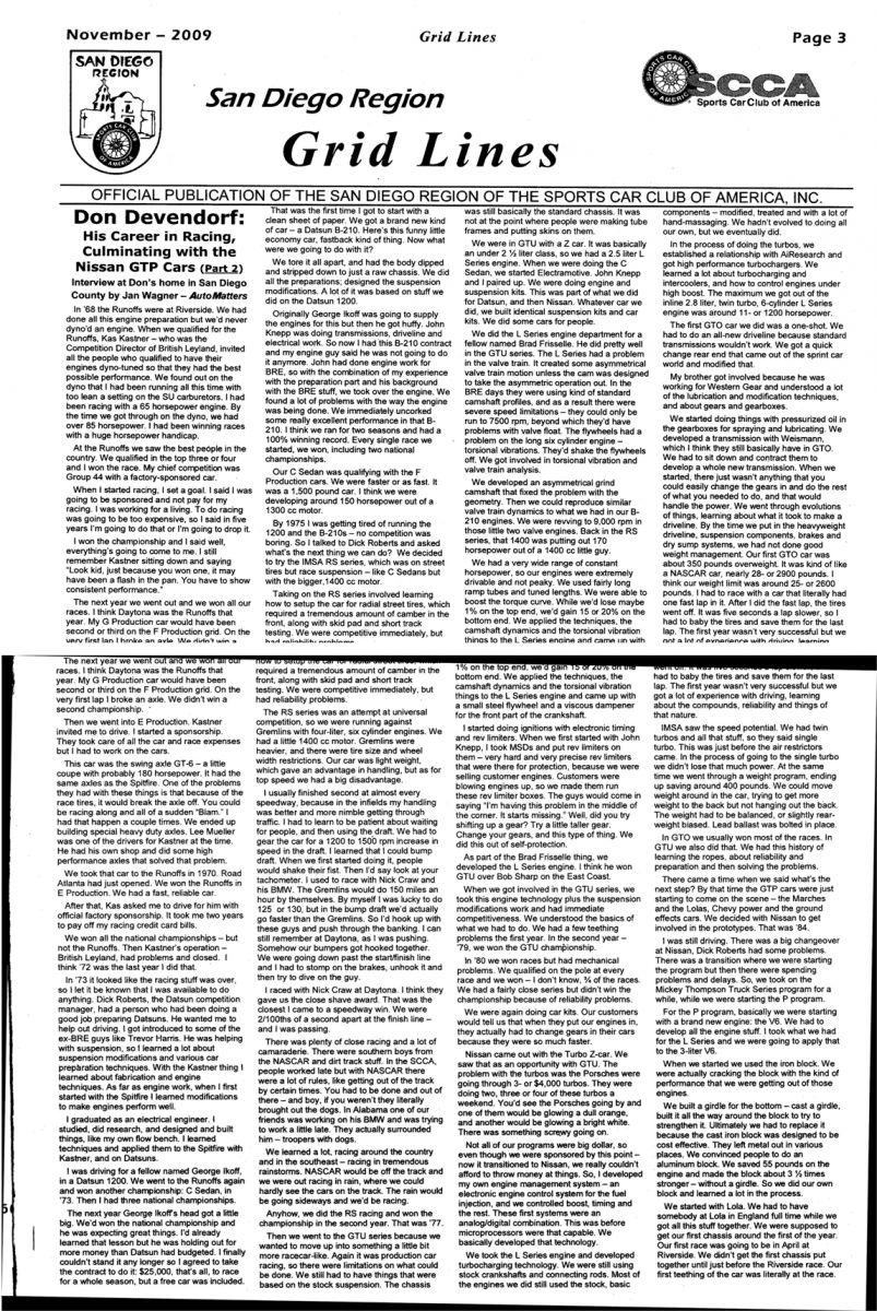Don Devendorf Interview (1 of 2)