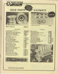 Bob Sharp Nissan V8 Race Motor and Parts For Sale