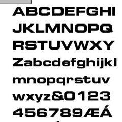BRE Font?