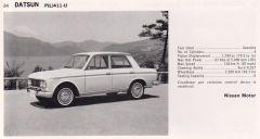 '67 Datsun PL411