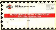 510 Recall Document (1 of 3)