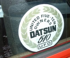 Original UFO Sticker