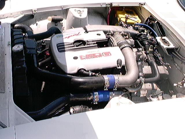 R34 Neo RB25DET in a 240z