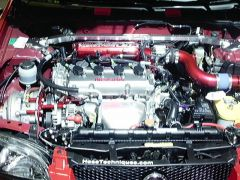 B15 Sentra with supercharger