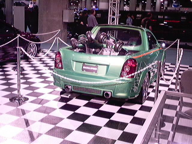 Mazda 3 show truck 3