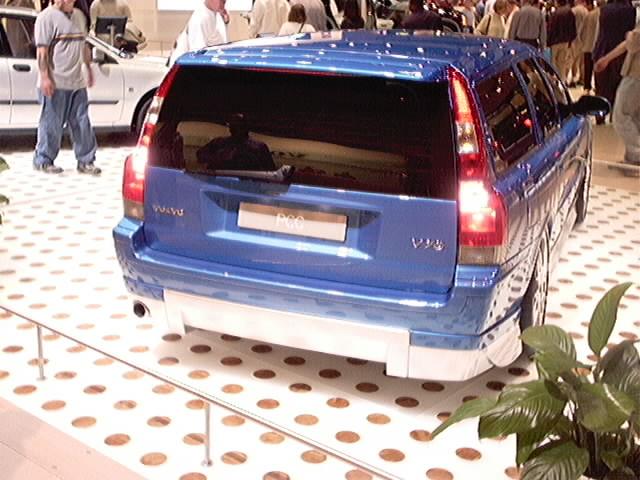 Volvo wagon rear