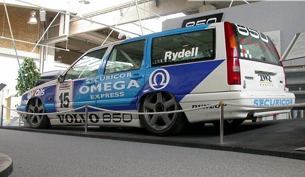 Volvo Estate rear