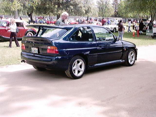 Ford Cosworth rear