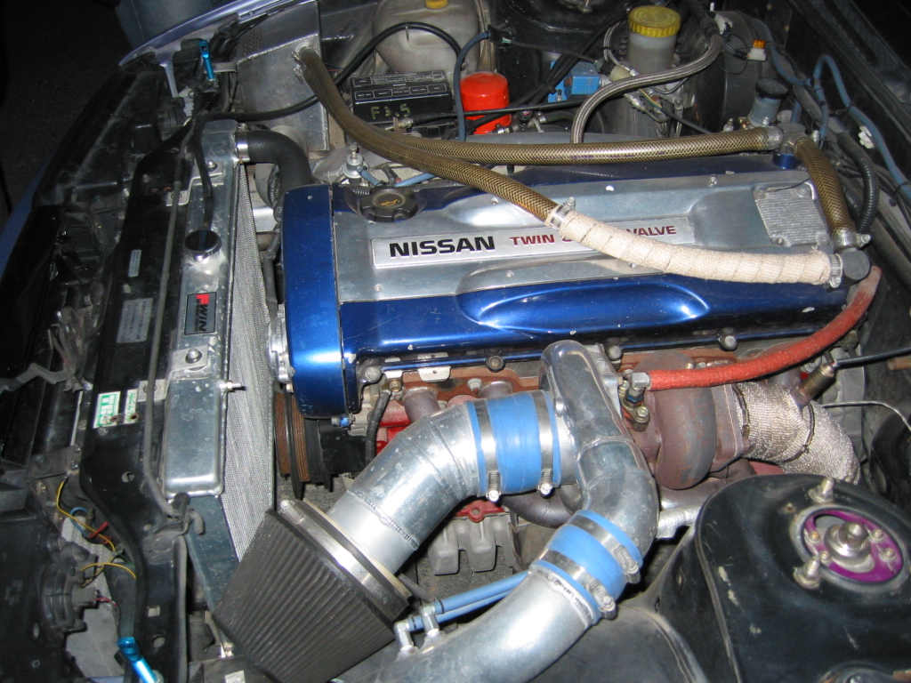 RB26DET powered S13 Silvia