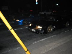 Two Supra's Line Up