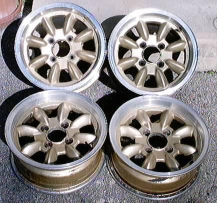 Enkei wheel set