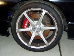 Silvia 18's with BIg Stoptech brakes
