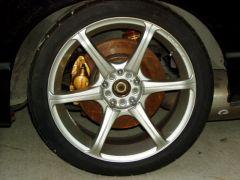 Silvia 18's with R34 Vspec Brembo brakes