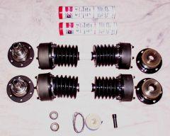 Porsche 930 spec CV joint half shaft kit for the 510 (R180 Diff)