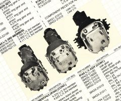 R160, R180 and R190 Differential  Housings