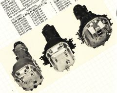 R180, R190 and R200 Differential Housings