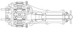 Subaru STi R180 LSD- Top View