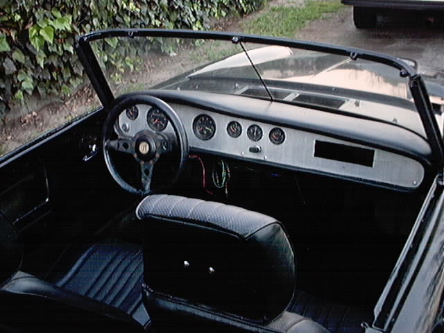 1967 Roadster custom dash