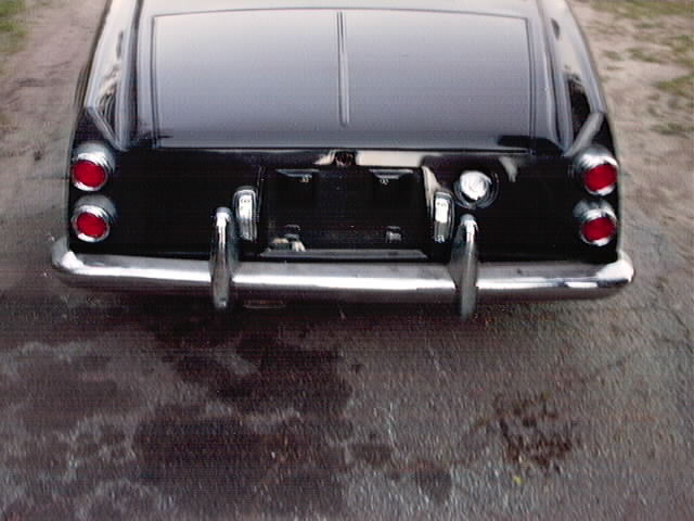 1967 Roadster tail light panel