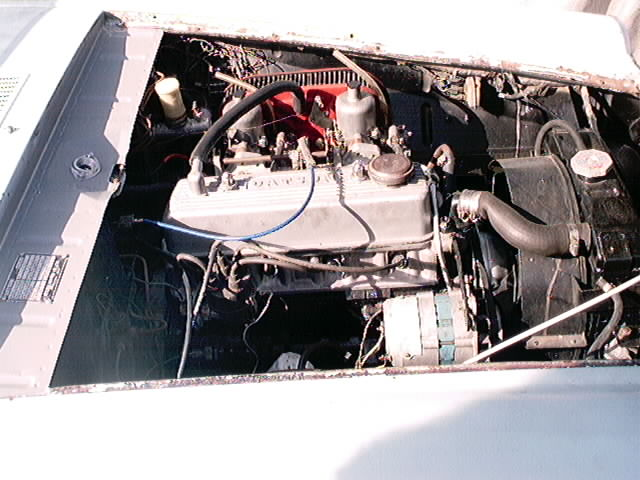 1964 Roadster engine 2