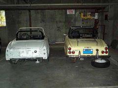 1968 parts car & 1970 Resto.