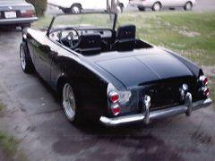 1967 Roadster rear